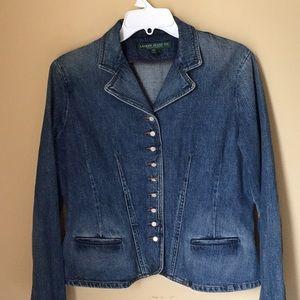 Vintage Ralph Lauren Button Up Denim Jacket